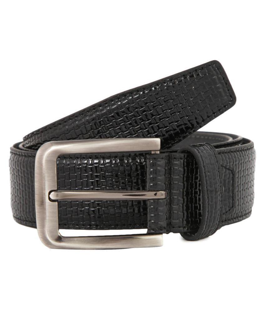 Waist Wire Black PU Party Belts