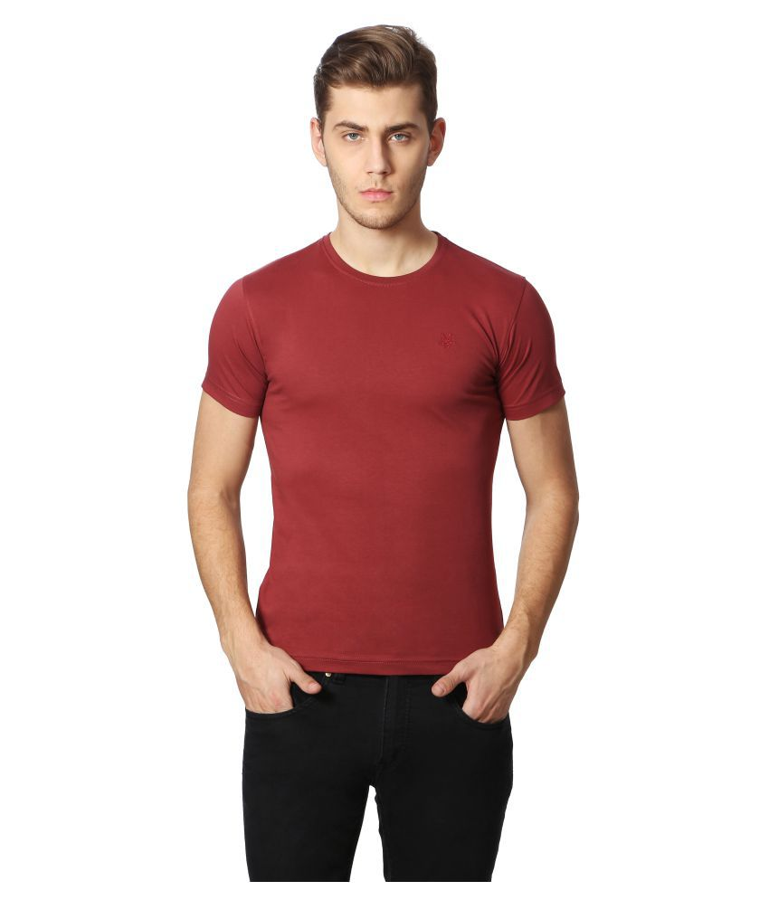 Goat Red Round T-Shirt