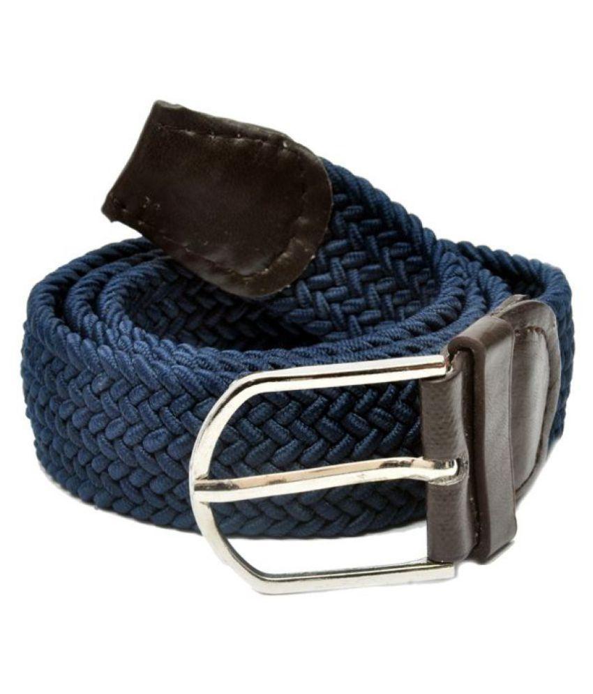 Arip Blue Canvas Casual Belt