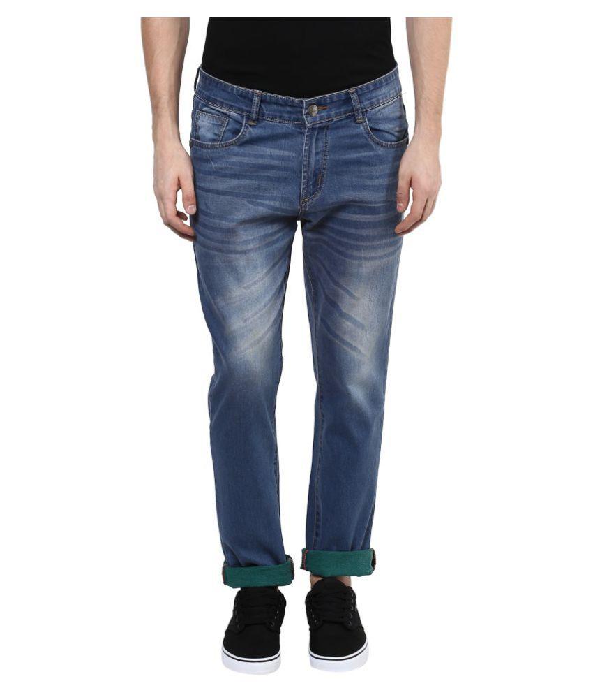 Yuvi Blue Regular Fit Jeans