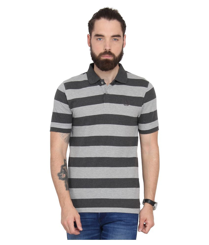 Urban Nomad Grey Round T-Shirt
