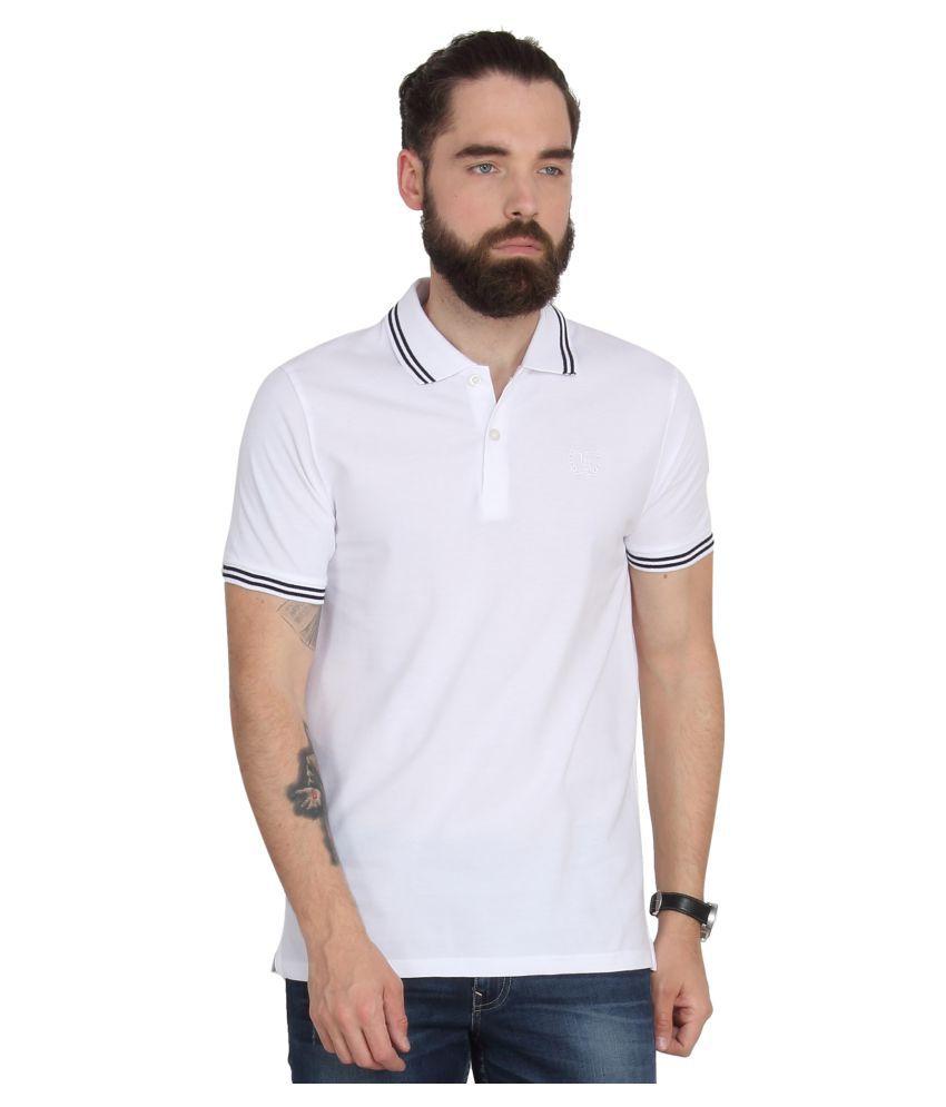 Urban Nomad White Round T-Shirt