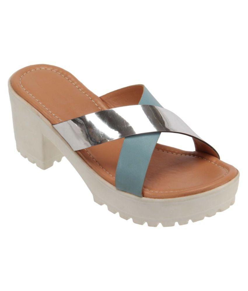 Shoe cloud Multi Color Wedges Heels