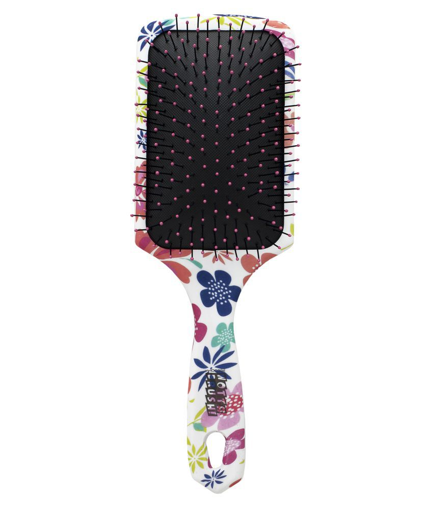 Roots Wotta Brush Paddle Detangling Brush - Floral Bliss