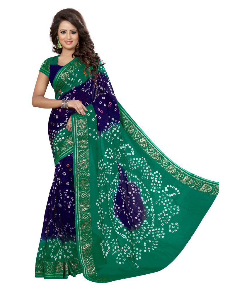 Mogal Creation Multicoloured Art Silk Saree