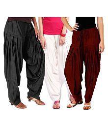 Trusha Dresses Cotton Pack of 3 Salwar