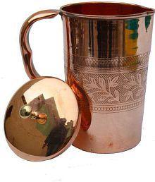 Veda Home & Lifestyle VEDA COPPER JUG Copper Jugs 1750 Ml