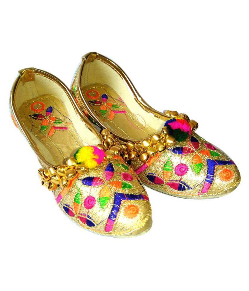 punjabi jutti, ethnic shoes for Girl