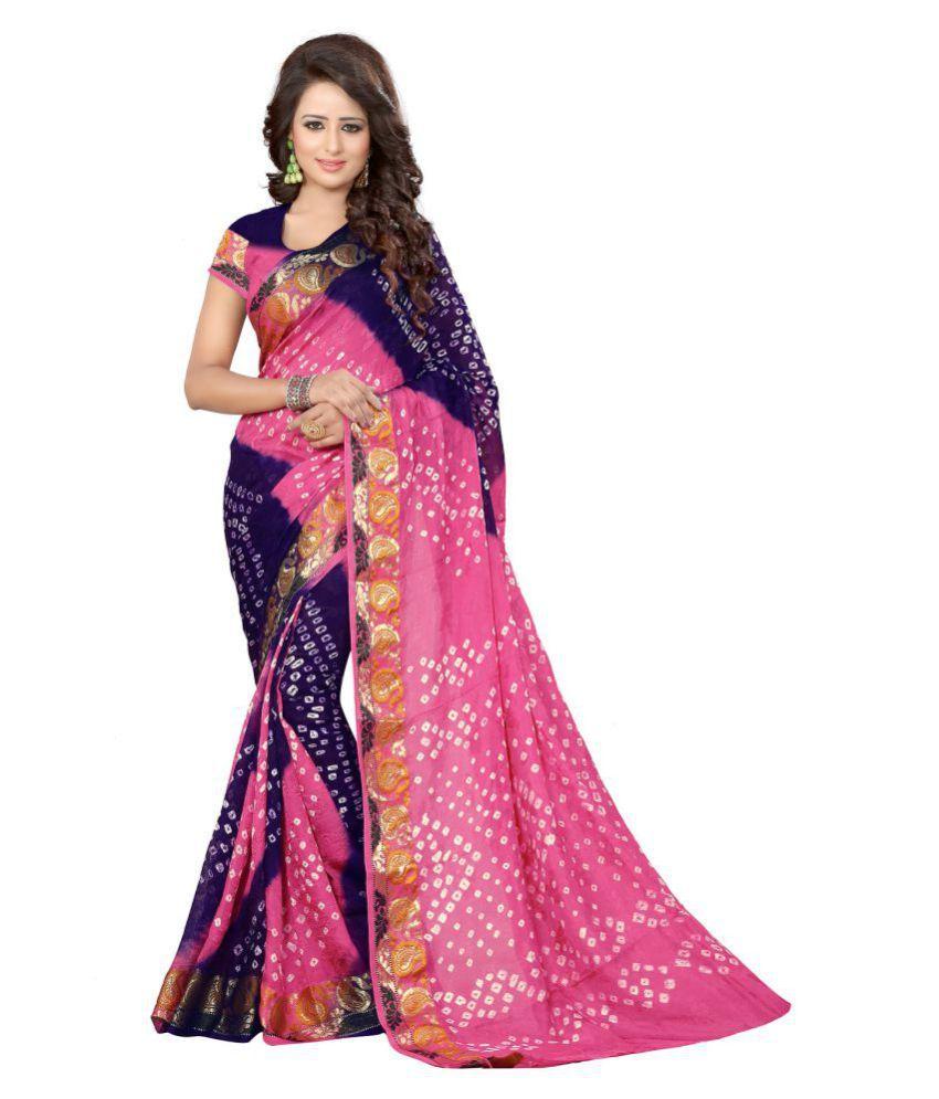 SNH EXPORT Multicoloured Art Silk Saree
