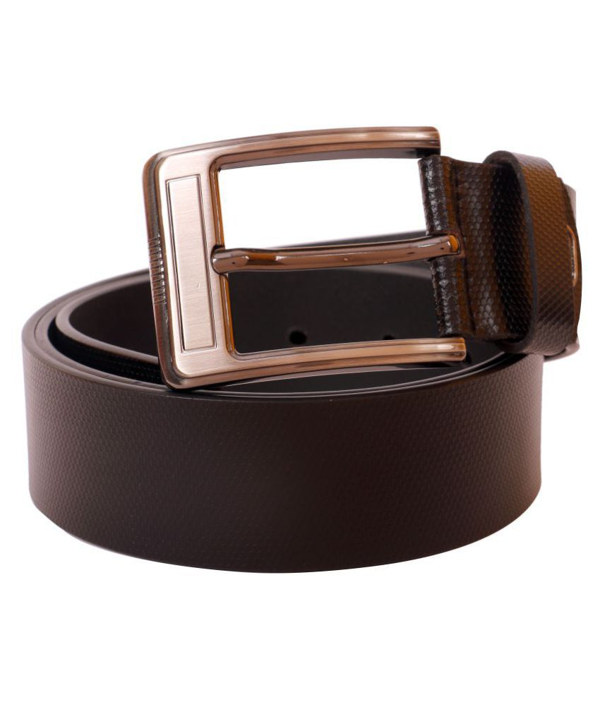 Bulls Hide Black Leather Casual Belts