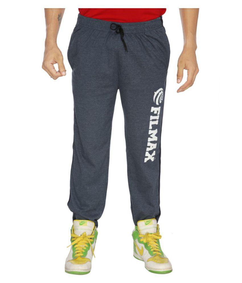 Filmax Blue Cotton Trackpants