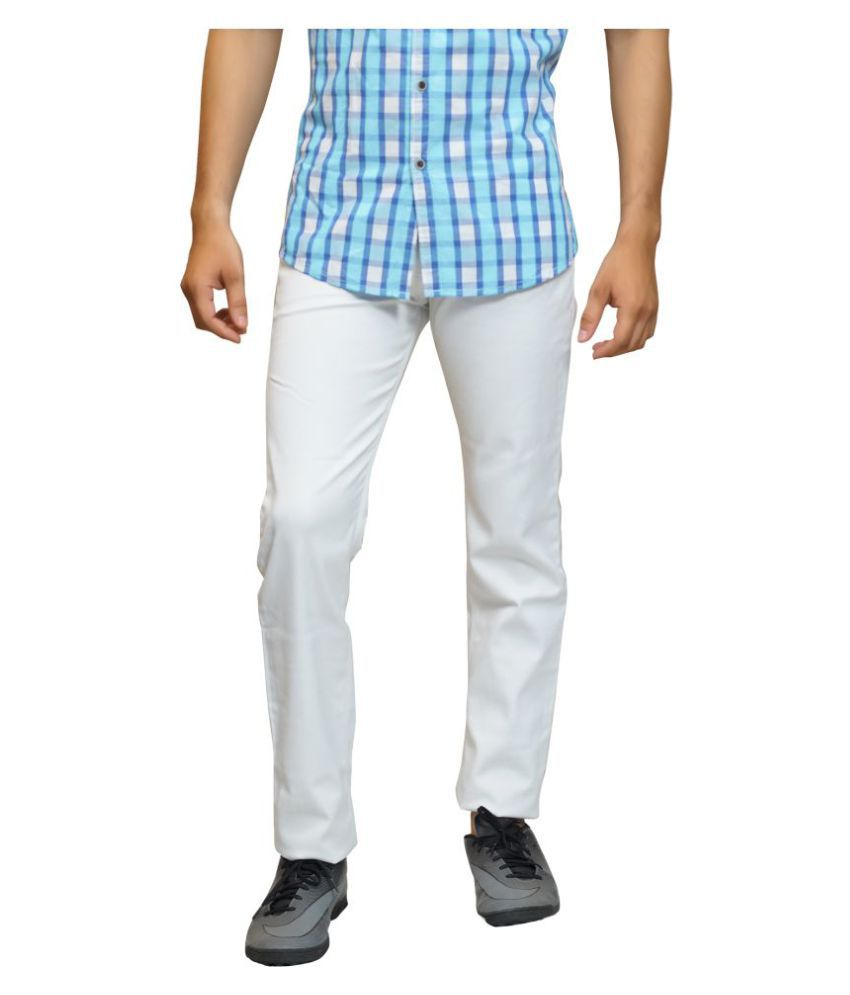 Lawson White Slim Jeans