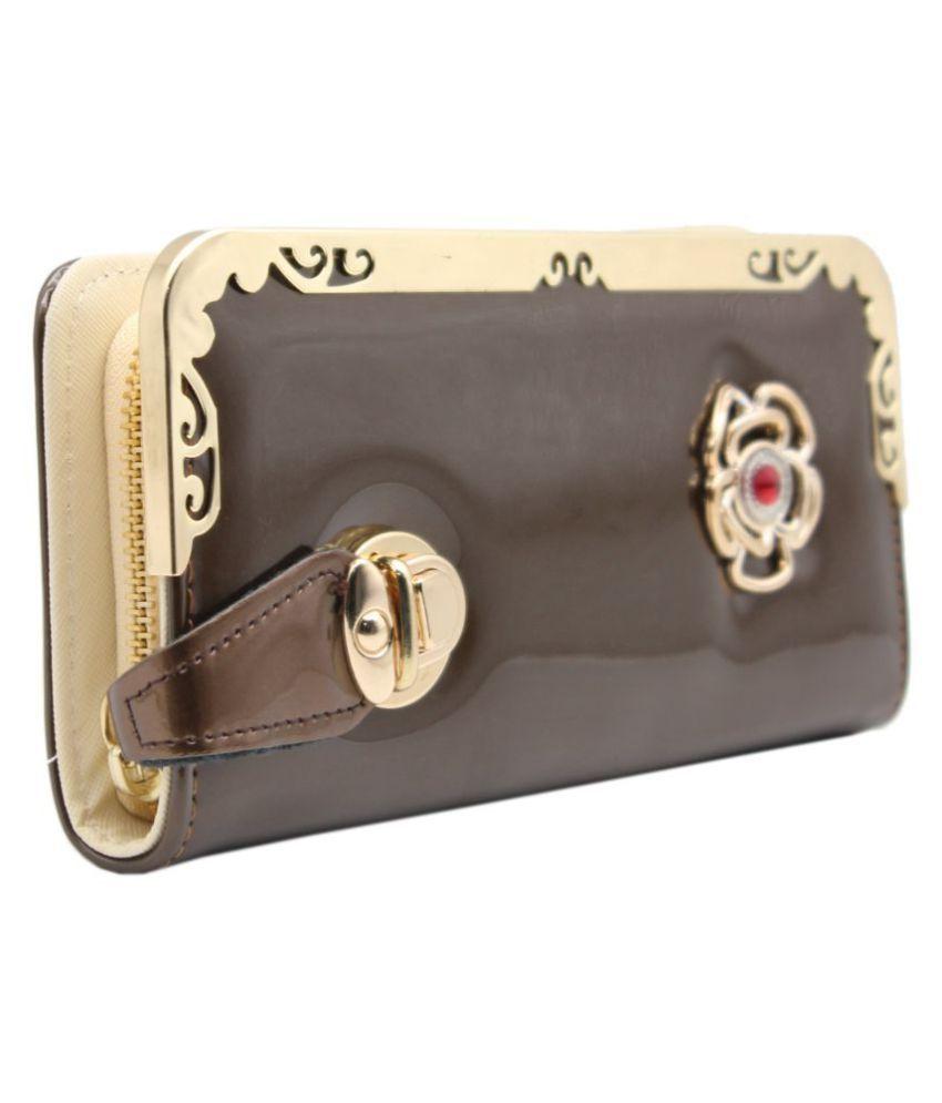 Trendy Brown Wallet
