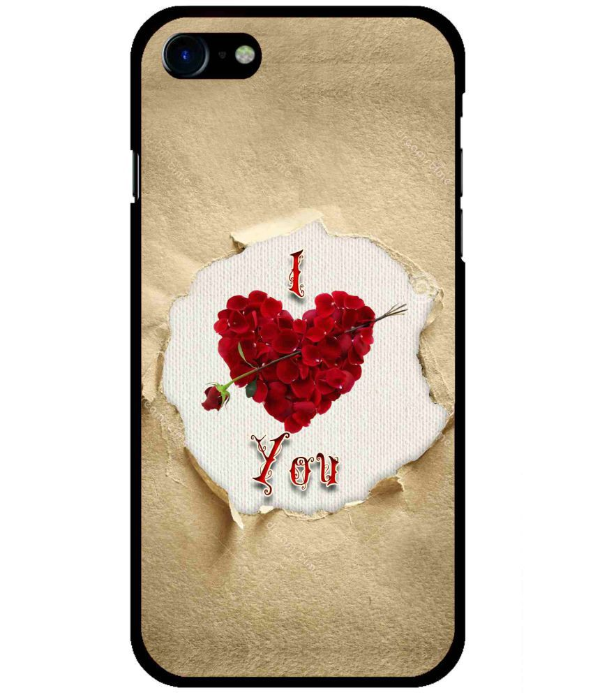 Apple iPhone 7 Plus Printed Cover By Snooky