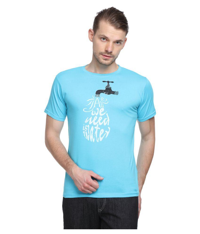 SharkTribe Turquoise Round T-Shirt