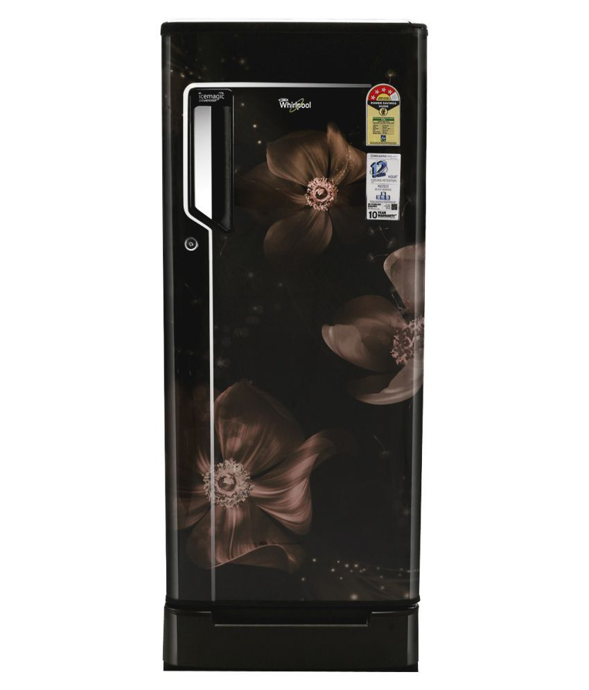 Whirlpool 200 Ltr 4 Star 215 Icemagic Powercool ROY Single Door Refrigerator...