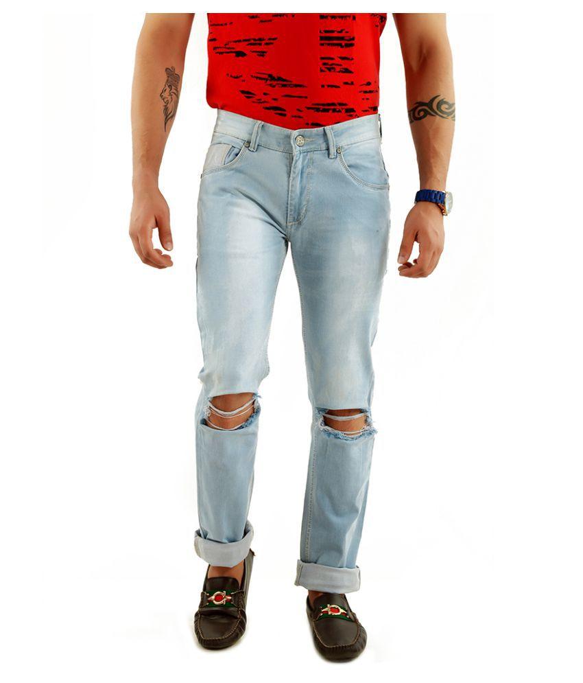Rock Island Grey Slim Jeans