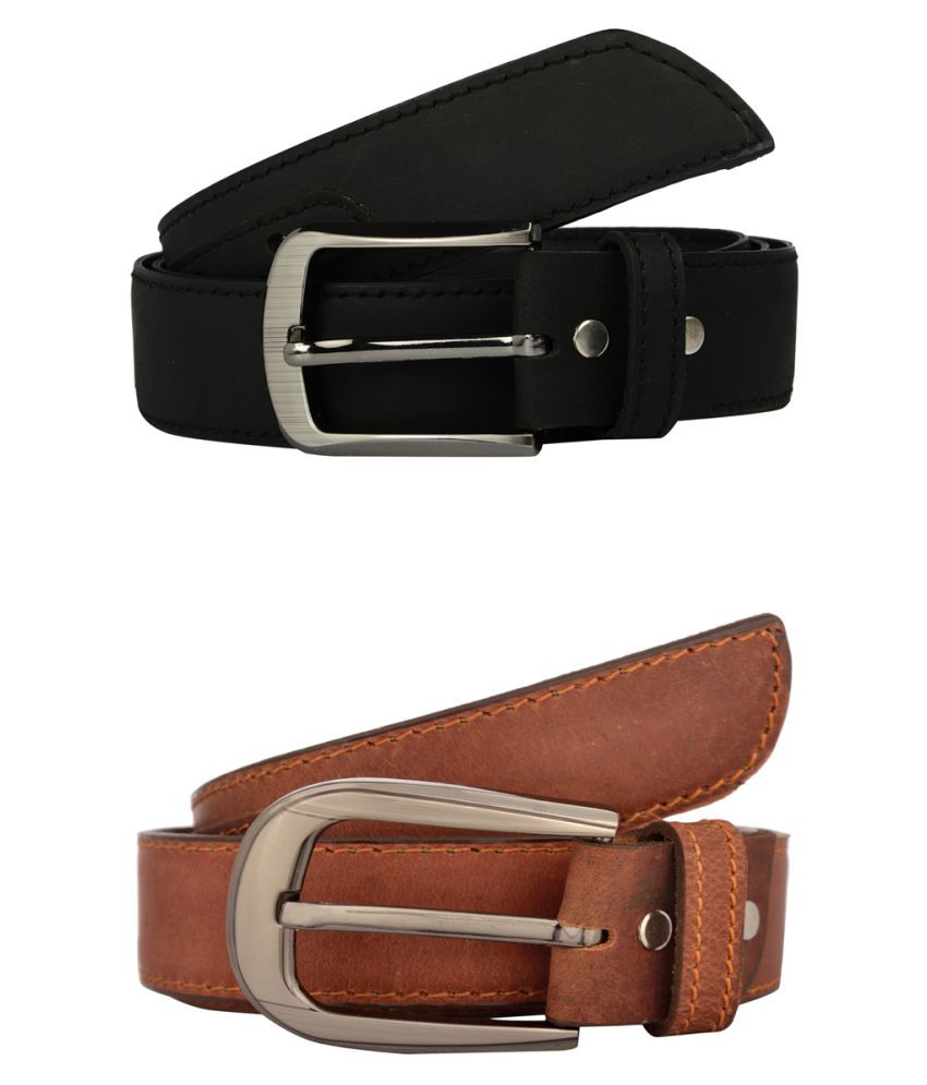 Exotique Multi Leather Casual Belts