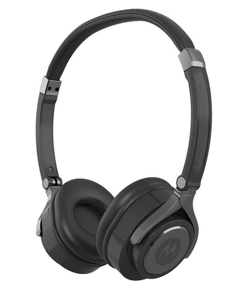 Motorola Pulse 2 Over Ear Wired Without Mic Headphones/Earphones