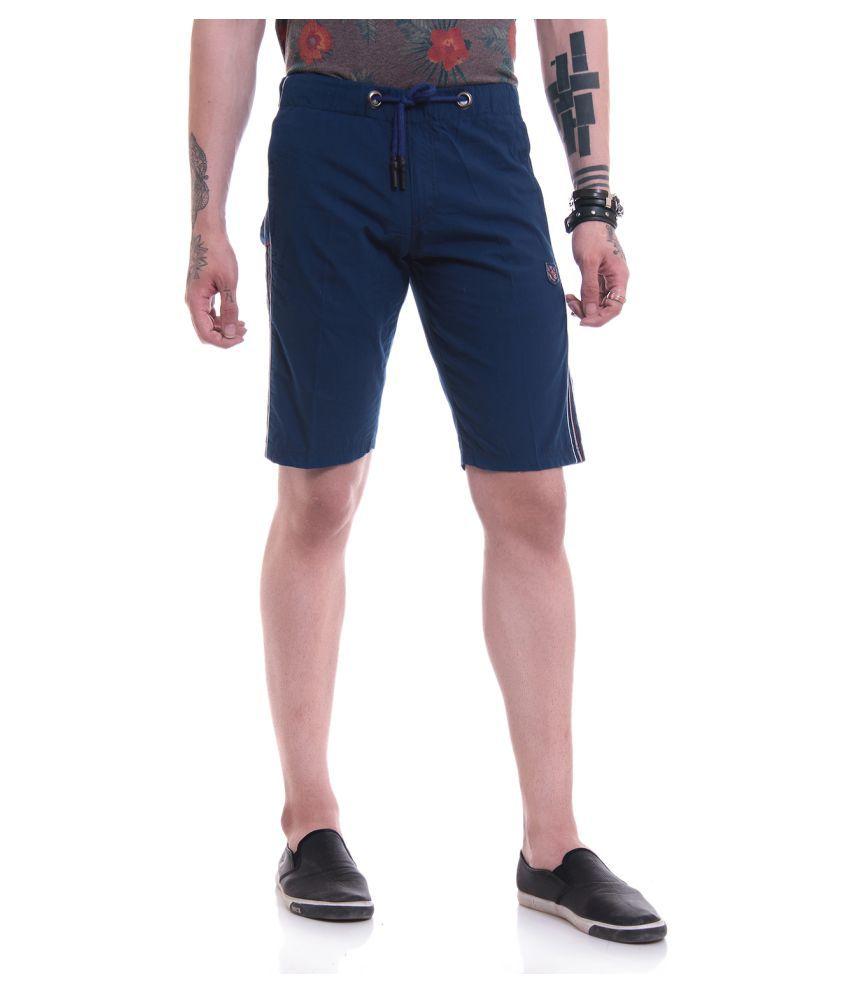 TAB91 Blue Shorts Single
