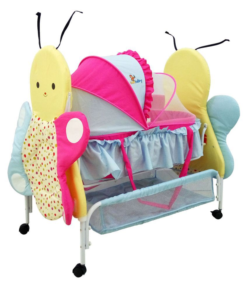SUNBABY BUZZ THE BUTTERFLY BASSINET