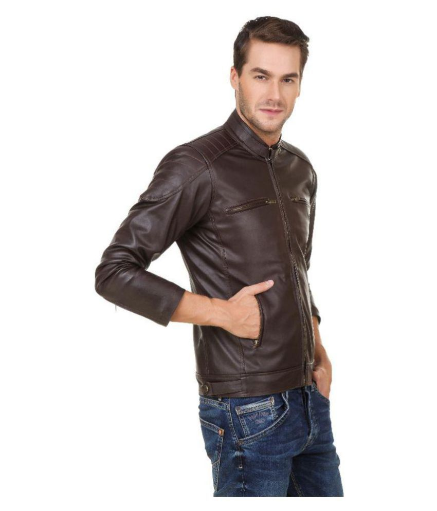 Gatasmay Brown Casual Jacket - Buy Gatasmay Brown Casual Jacket ...