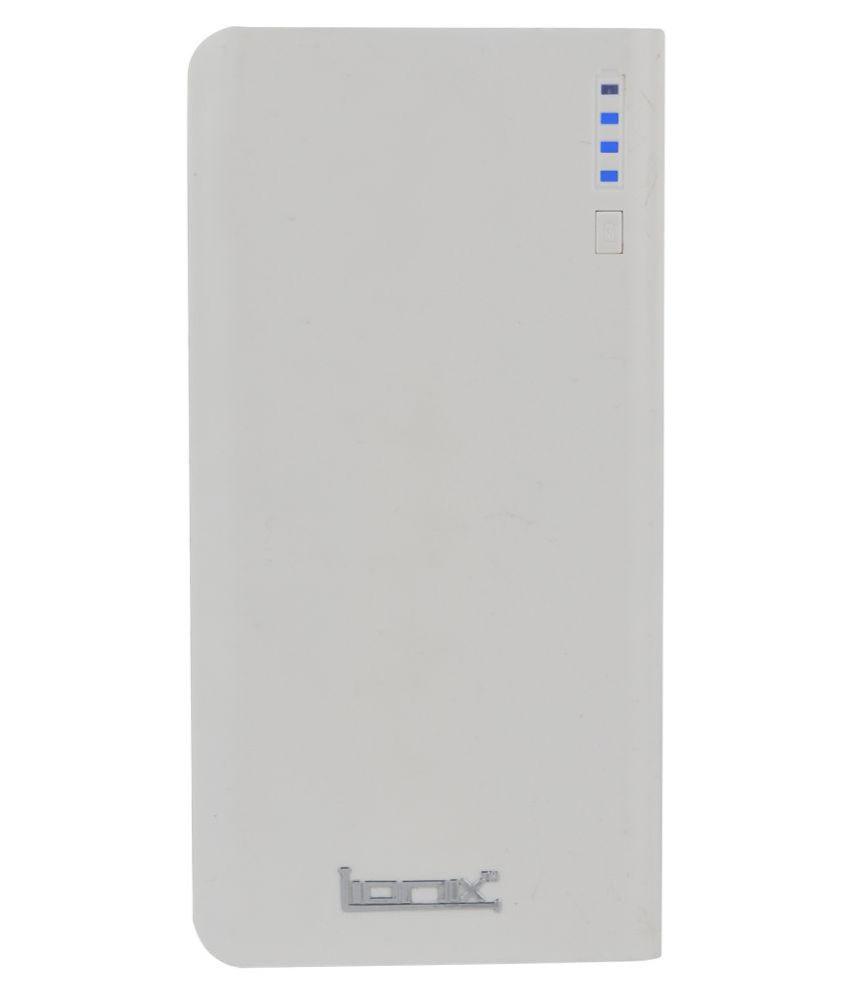 Lionix N 2 USB Port 20000 -mAh Li-Ion Power Bank White
