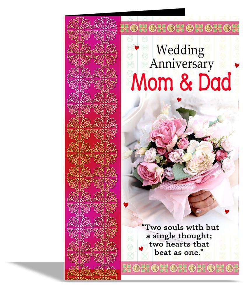 Wedding Anniversary Mom Dad Greeting Card