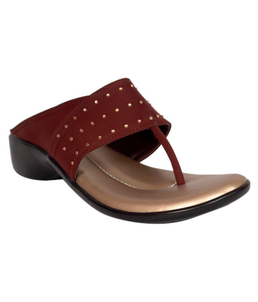 Bora Bora Brown Wedges Heels