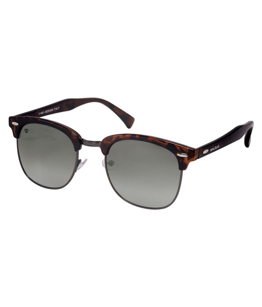 Walrus Brown Clubmaster Sunglasses ( WS-MCHL-II-092602 )