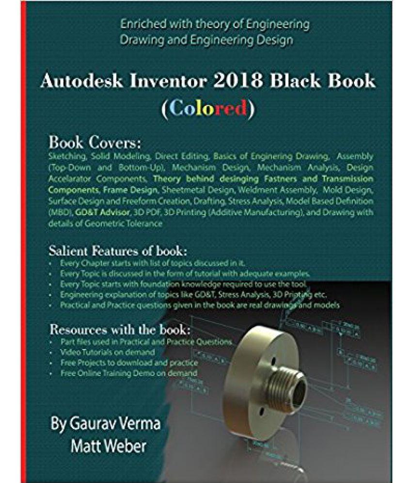 Autodesk Inventor 2018 Black Book (Colored)