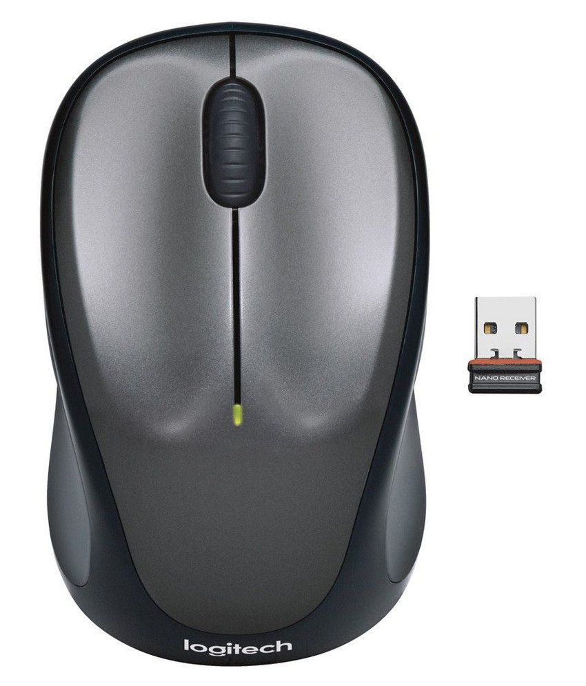 Logitech M235 Wireless Optical Mouse  USB, Black