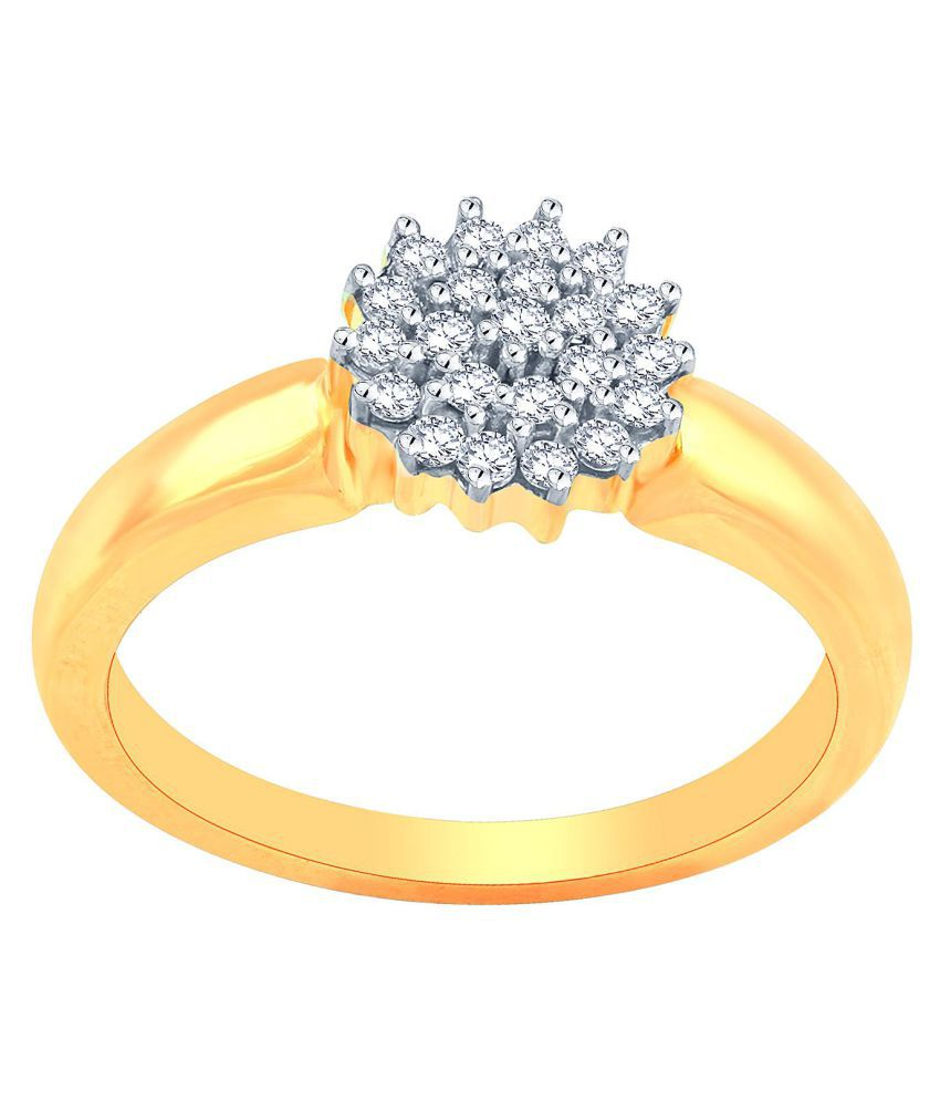 Avnni By Nakshatra 18k Yellow Gold Ring