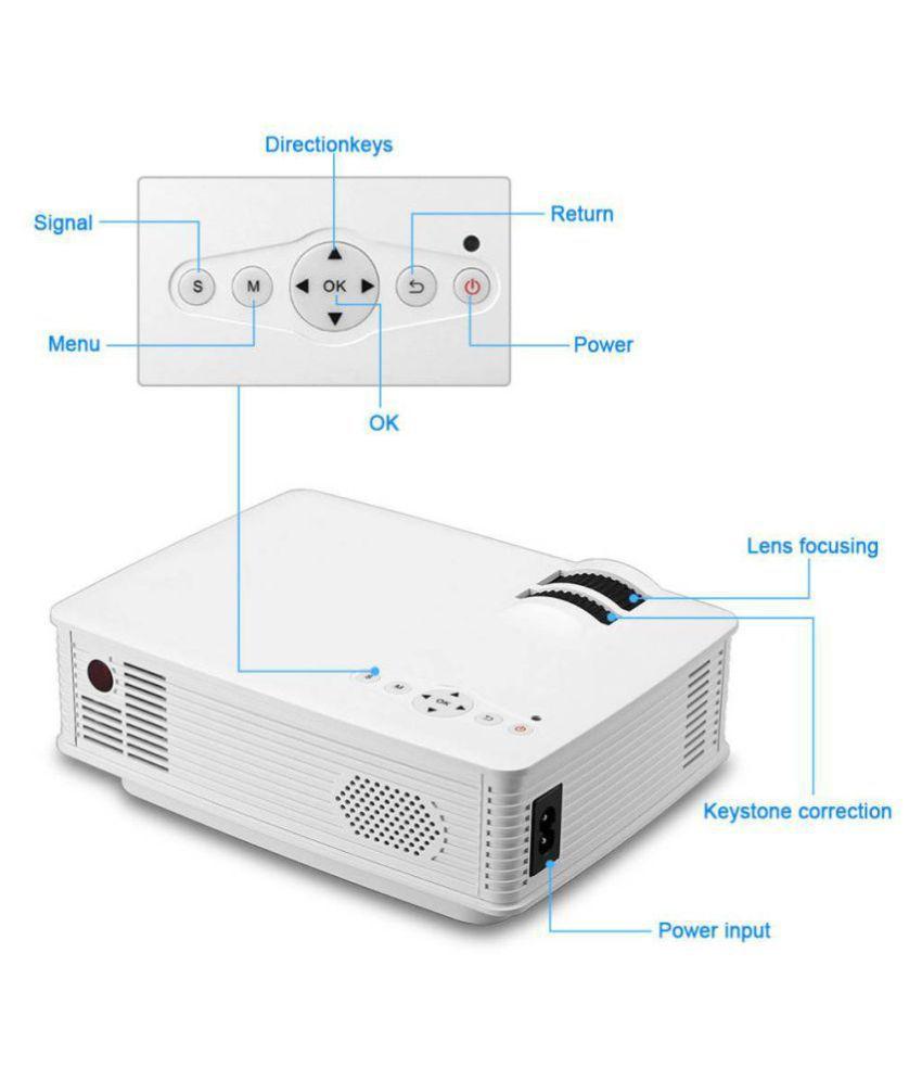 10e3ff8a1fd8c5 ... EGATE i9 LED HD Portable Movie Projector (Black) HD 1920 x 1080 Support  ...