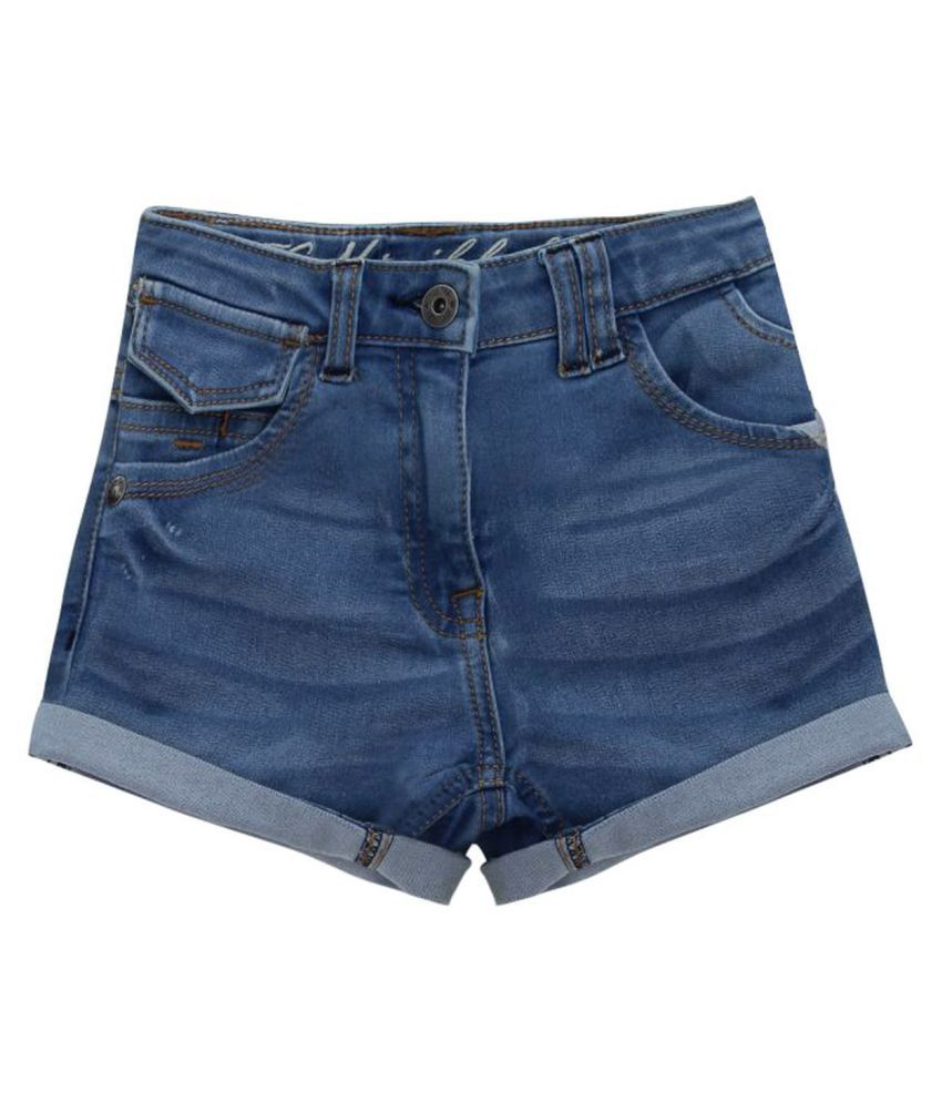 FS MiniKlub Girl's Denim Shorts-Lt Wash