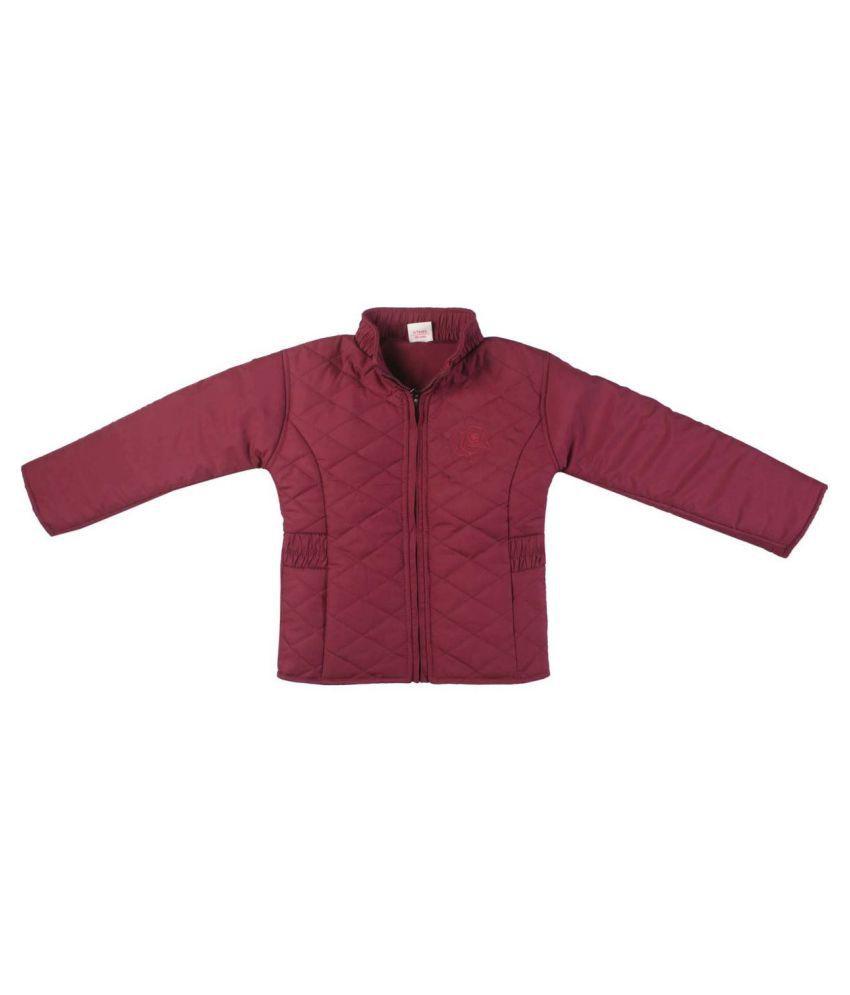 FS MiniKlub Girl's Polyfill Jacket-Purple