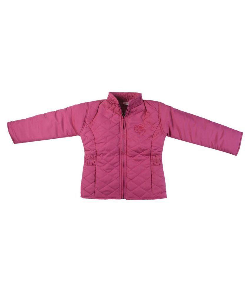 FS MiniKlub Girl's Polyfill Jacket-Pink