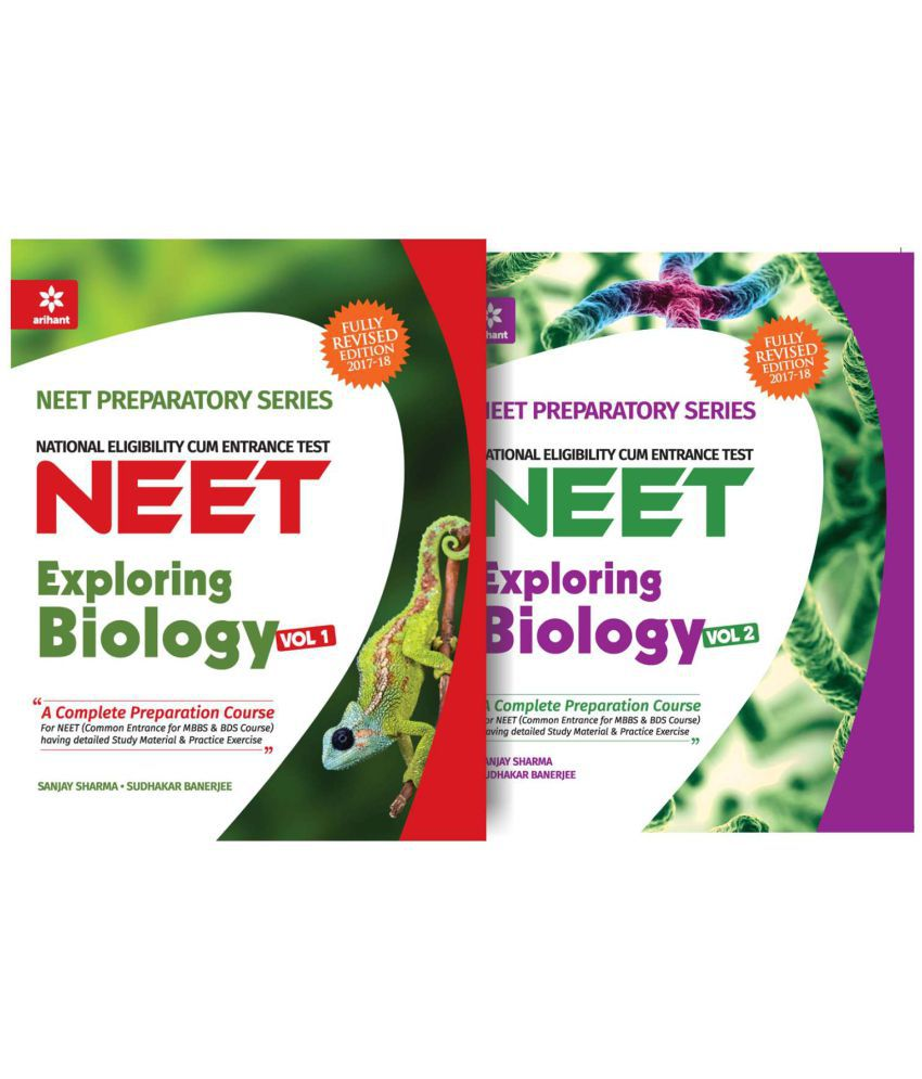 Biology for NEET Vol-1 and 2 (Set of 2 Books)