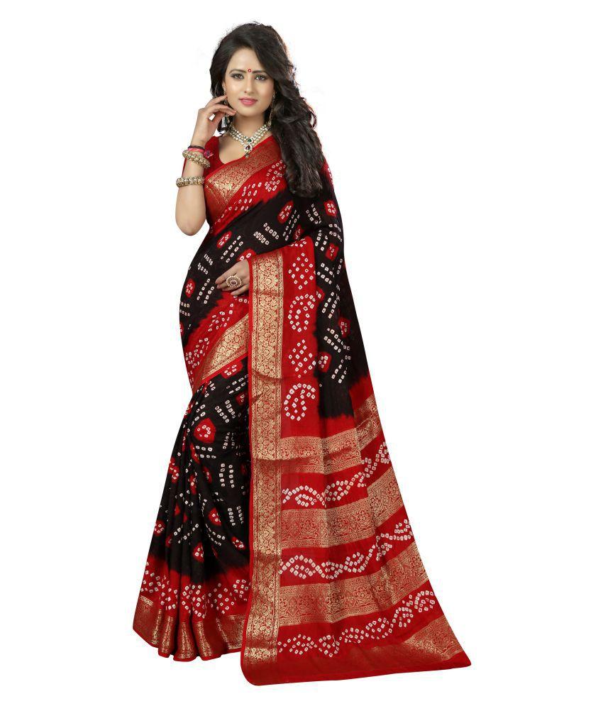 Mogal Creation Multicoloured Art Silk Saree