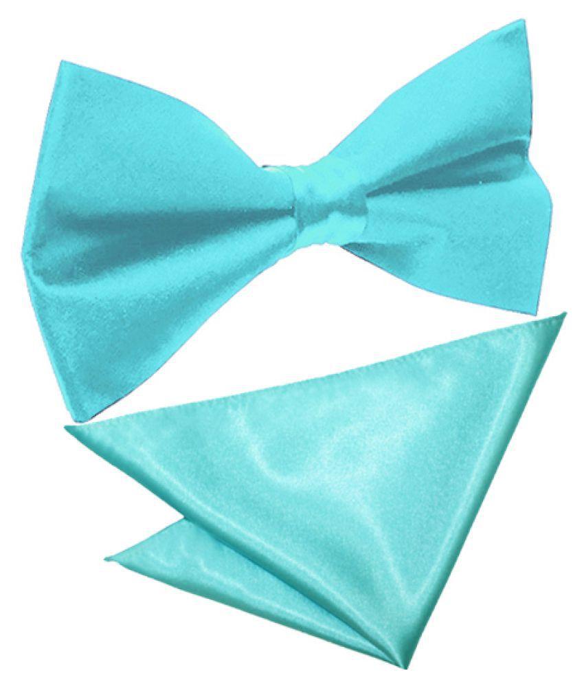 Haflingerr Blue Plain Polyester Necktie