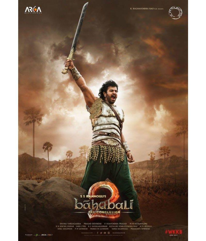 mahalaxmi art & craft prabhas baahubali movie s ultra hd2 paper wall