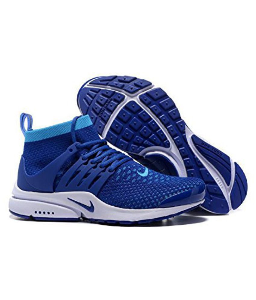 c37b9c0f8de1c Nike Air Presto Blue Running Shoes - Buy Nike Air Presto Blue Running Shoes  Online at Best Prices in India on Snapdeal
