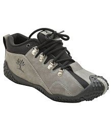 Gray Casual Shoes for Kids