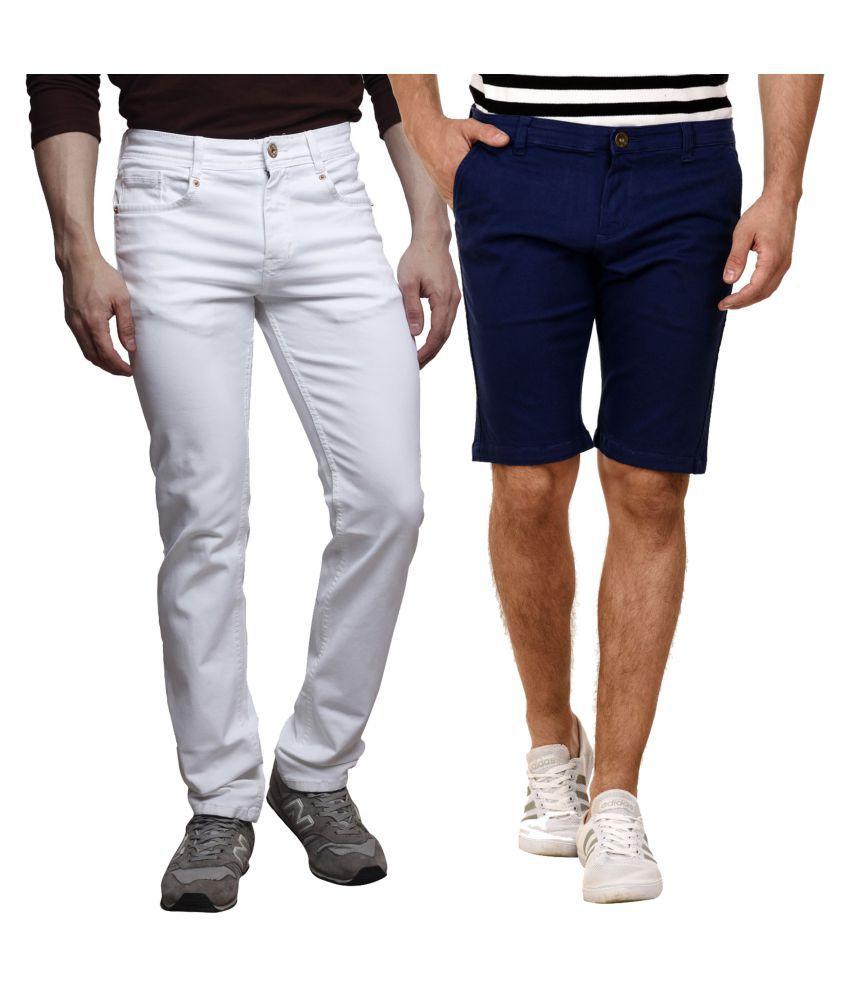 MSG White Slim Jeans