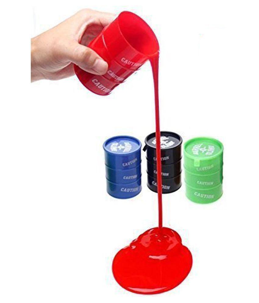 Smiles Creation Barrel-O-Slime Toy For Kids- Set Of 4