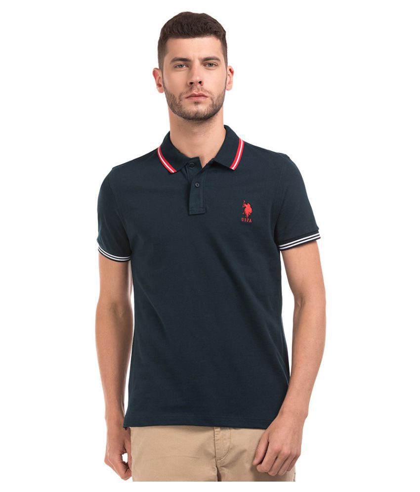U.S. Polo Assn. Multi Round T-Shirt