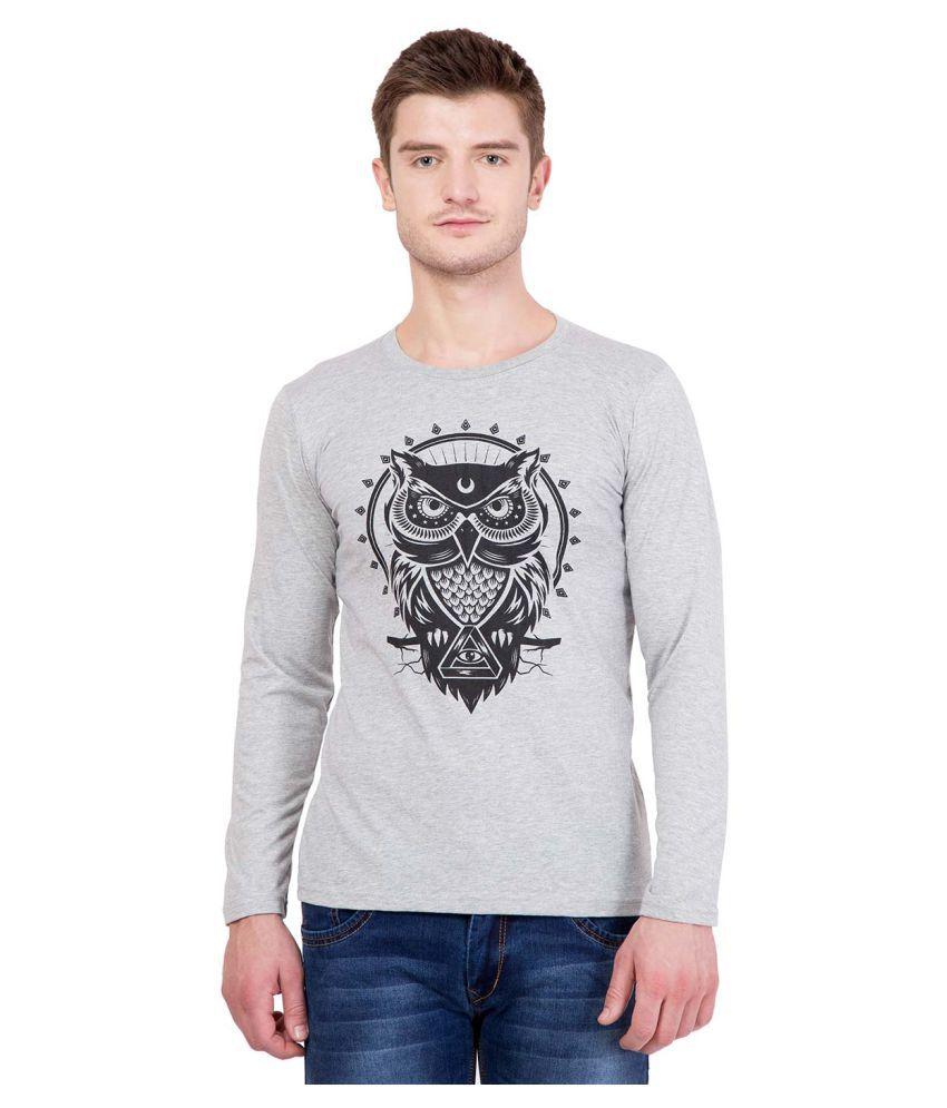 HashOne Clothing Co Grey Round T-Shirt