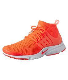 Nike Presto Orange Training Shoes