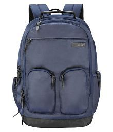 Safari Navy Blue Quest Compact Blue Backpack