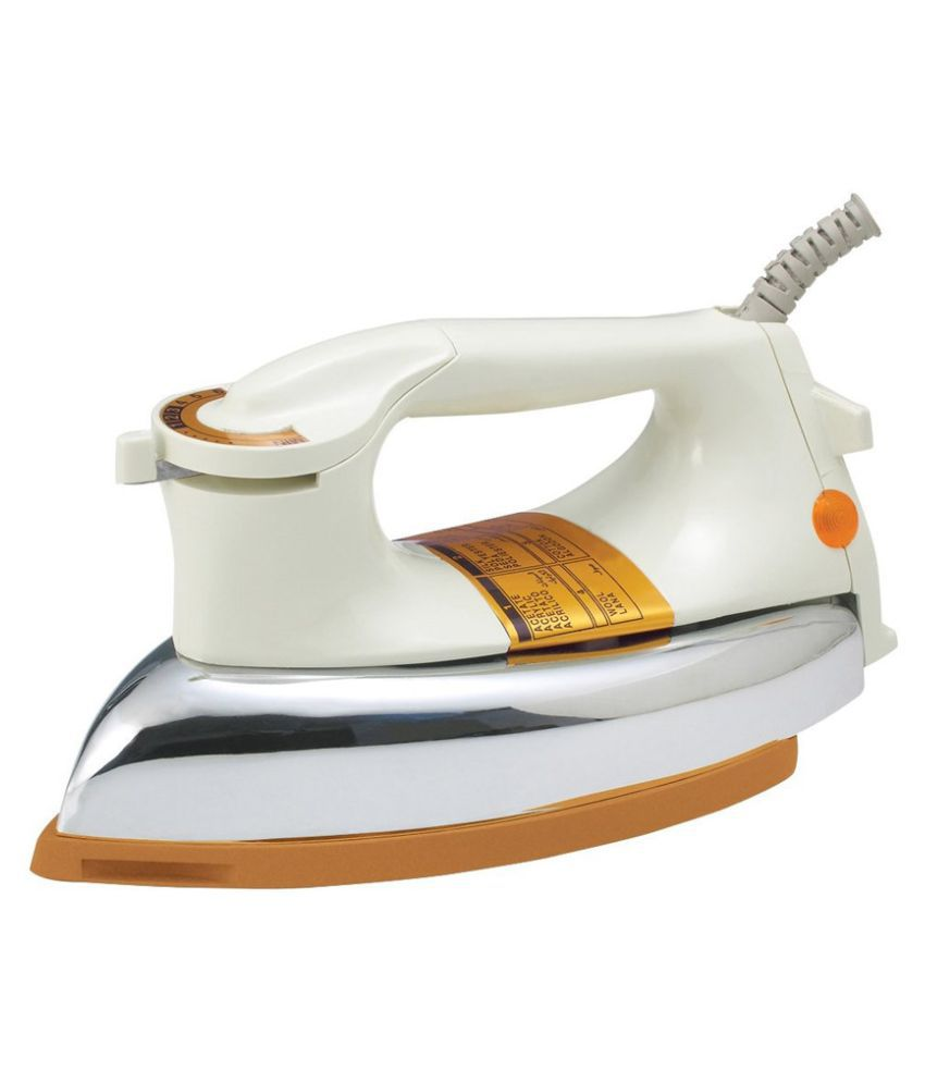 Tag9 Plancha Dry Iron White